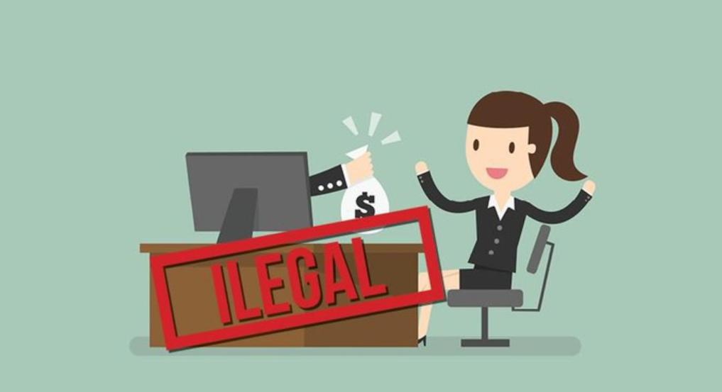 resiko kredit tanpa agunan ilegal