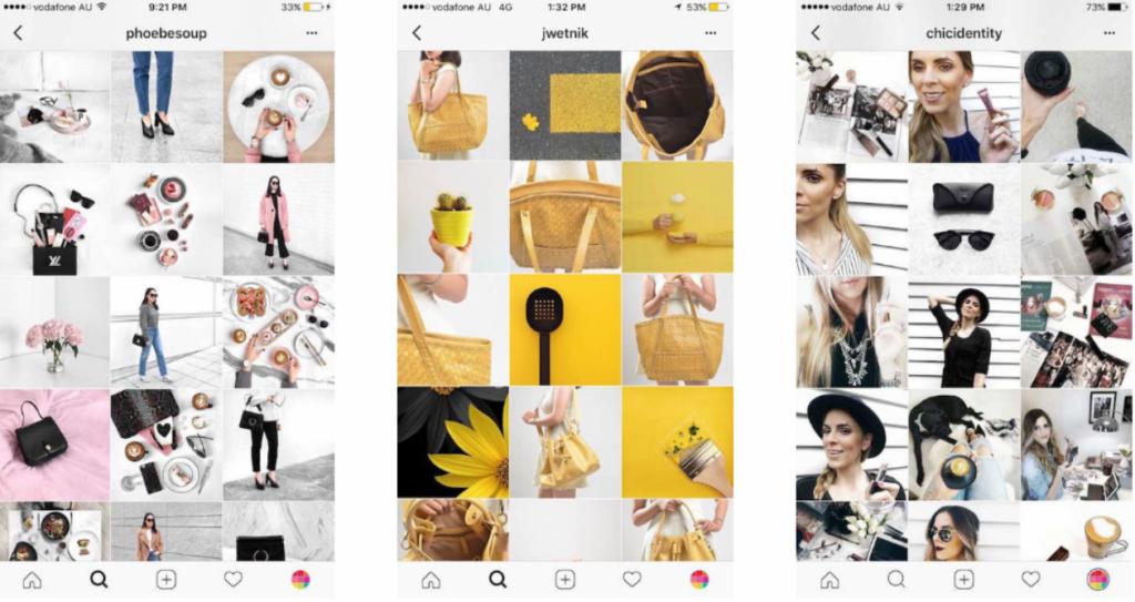 desain feed instagram untuk closing produk